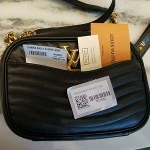 Louis Vuitton New Wave Noir Camera Bag Black
